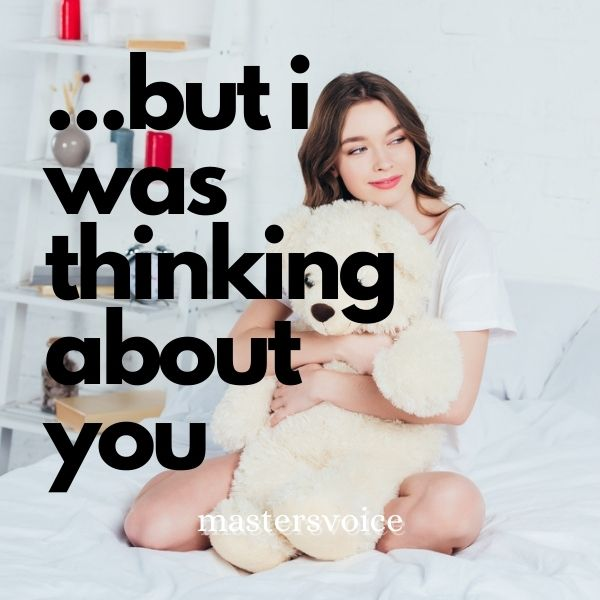 ...But I Was Think About You