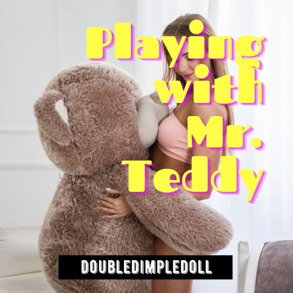 Playing With Mr. Teddy