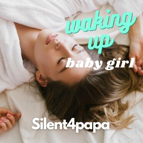 Waking up baby girl