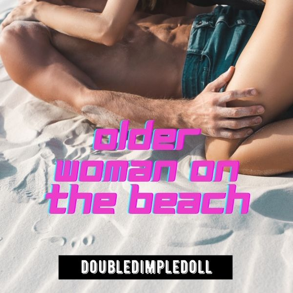 Older Woman on the Beach cover image