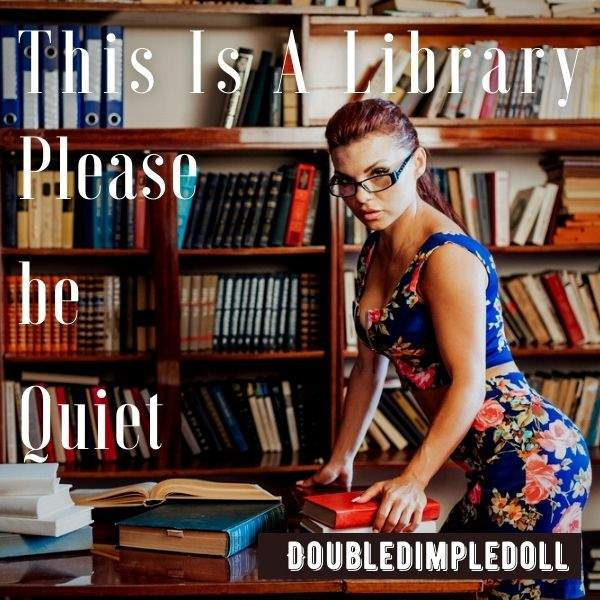 This Is A Library. Please Be Quiet cover image